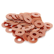 100pcs Tattoo Machine Phenolic Coil Core Washers Machine Parts Supply