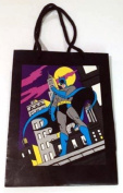 DC Comics Vintage Batman Gotham Rooftop 15cm X 20cm Gift Bag By Applause Dated 1989