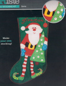 Christmas Stocking Felt Kit -Santa