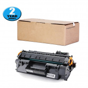 05A Toner Cartridge 1 Pack Replacement for HP LaserJet P2035 P2035N P2050 P2055 P2055D P2055DN P2055X by Hobbyunion Brand, Black