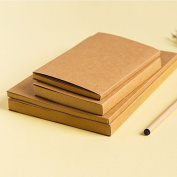 Brown Kraft Cover Sketchbook / Journal / Diary / Note Book With Blank Kraft Paper (32K