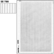 "Deleter Screen Tone Jr JR-160 [ Striped Pattern ] [Sheet Size 182x253mm (7.16""x9.96"")] For Comic Manga Illustration"