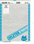 "Deleter Screen Tone Jr JR-126 [Light Checker Pattern][Sheet Size 182x253mm (7.16""x9.96"")] For Comic Manga Illustration Graphic Screentone"