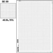 Deleter Screen Tone SE-30 [Dot Pattern 42.5L/5%] [B4 Size