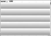 Deleter Screen Tone SE-956 [Gradation 60L/0-30% gradation 5 rows)] [B4 Size