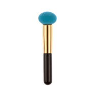 BUYITNOW Foundation Puff Pen Brush Multi Shape Sponges Makeup Blender Powder Blue