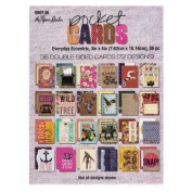 Everyday Eccentric Pocket Cards - Set of 36 Double Sided 3x4