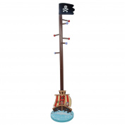 Fantasy Fields by Teamson Pirates Island Childrens Coat Stand Kids Coat Tree Hanger Carribean Hook TD-11603A