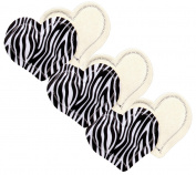 Fresh Baby 3 Piece Mama Pads, Zebra