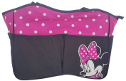 Disney Minnie Mouse Polka Dot Embroidered Nappy Bag Tote