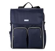 Waterproof Multi-functional INSULAR Nappy Bag Backpack shoulder bag with Stroller Straps, Changing Pad,shoulder strap