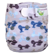 Sweet Pea Newborn All-In-One Nappy, Moto