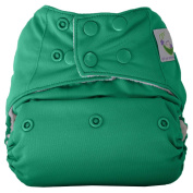 Sweet Pea Bamboo AIO Cloth Nappy, One Size, Teal Green