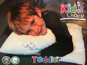 Toddler's Choice Pillow/Travel pillow - No pillowcase needed - Machine washable - Made in the USA