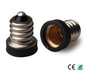 E-Simpo 10-pack E12 to E10 Adapter,E12 to E10 Lamp Base Converter,Copper, Z1103