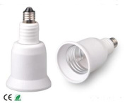 E-Simpo 6-pack E11-E14-E26 Adapter,E11-E14-E26 Lamp Base Converter,PBT, Z1100