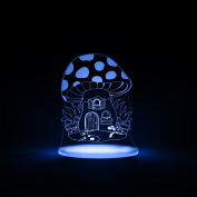 Toadstool Night Light, LED 12 colours with interactive remote