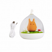 MEXUD USB Night Cute LED Cage Lamp Portable Touch Sensor Light Baby Kids Bedroom Sleep