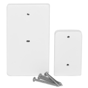 Ivation Retractable Gate Wall Spacer Kit - White