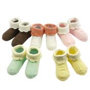 Bowbear Baby 5 pair Crumpet Cuffed Socks