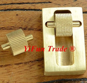 YiFun Trade Leather Edge Dye Oil Roller Brass Box Applicator DIY Craft Treatment Tool
