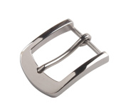 ChangJin 1PCS Fashion Stainless Steel Horseshoe Pin Buckle 61x52mm