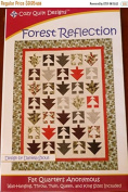 Pattern Forest Reflection Fat Quarter Friendly Pattern Cosy Quilt Designs