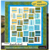 Pattern Fast Lane, Quilt, 25cm Square Pattern, Modern Quilt., Geometric