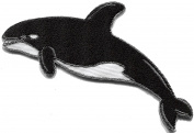 Killer whale orca fish blackfish embroidered applique iron-on patch new S-1327