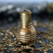 Getbetterlife® 2015 New Brass Dull Polish Spherical Tattoo Grip Back Stem for Tattoo Machine