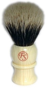 Best Badger Faux Ivory Shaving Brush with Free Stand From Fs