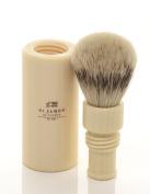 St James Travel Super Badger Hair Brush Ivory