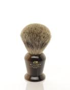 St James Pure Badger Hair Shaving Brush Horn