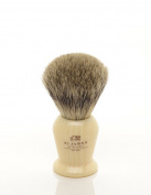 St James Pure Badger Hair Shaving Brush Ivory