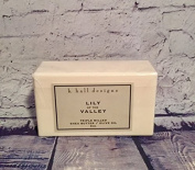 Lily of the Valley 240ml Milled Shea Soap by K Hall Design