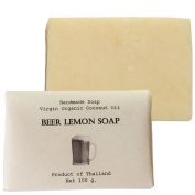 Beer Lemon Soap (Whitening and Moisturising) Size 100 g.