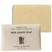 Beer Lemon Soap (Whitening and Moisturising) Size 100 g.