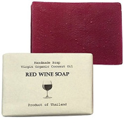 Red Wine Soap (Detoxifying and Whitening) Size 100 g.