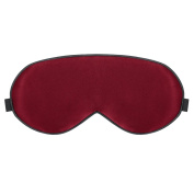 PLEMO Eye Mask, Luxury Mulberry Silk Sleeping Mask Ultra-Soft Eye Cover for Bedtime & Travel