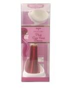 SpaLife Dreamy Plush Sonic Cleansing Facial Brush - Red
