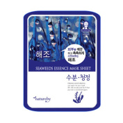 Natureby Korea Essence Moisturising Full Face Facial Mask Sheet Selection - 10 Sheet