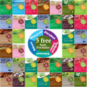 {Entel} 36 Pcs Combo-Pack, Premium Korean Essence Facial Mask Sheet (12 Types x 3 pcs), Five Chemical Free : No Paraben, No Silicon, No Mineral Oil, No Artificial Colours,No Ethanol
