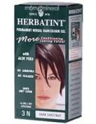 Herbatint Permanent Herbal Haircolour Gel 3n Dark Chestnut -- 135 Ml