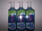 3 Bath & Body Works Blue Skies & Bloom Deep Cleansing Hand Soap 240ml