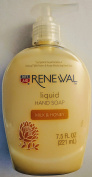 (5 Pack) Rite Aid Renewal Liquid Hand Soap - Milk and Honey 220ml each
