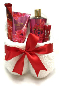 Victoria Secret Slipper Gift Sets - Gift Baskets - Dearfoam Slippers (L), Body Cream, Shower Gel, Lip Balm + MoreLots of Scents to Choose From