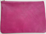Adrienne Vittadini Studio Tech Pouch & Cosmetic Bag Fuchsia Smooth