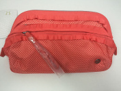 Lululemon Don't Sweat It Kit Cape Red Coral CAPE Cosmetic Toiletry Bag