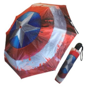 Marvel Comics Civil War Captain America Shield Umbrella