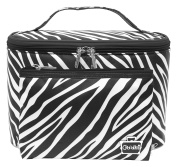 Caboodles Sweet & Sassy Large Tapered Tote, Zebra, 0.6kg